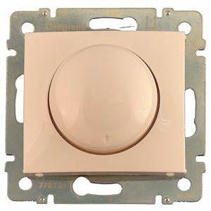 695628 DIY Valena Крем Светорегулятор поворотный 40-400W для ламп накаливания (вкл поворотом)