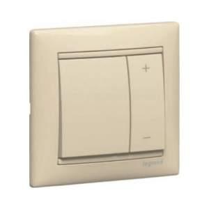 695629 DIY Valena Крем Светорегулятор нажимной 40-600W для л/н и обмоточных т-ров