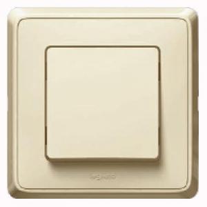 695900 DIY Cariva Крем Выключатель 1-клавишный