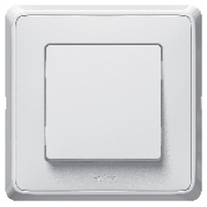 695930 DIY Cariva Бел Выключатель 1-клавишный