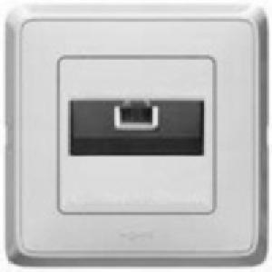 695954 DIY Cariva Бел Розетка компьютерная 1-ая RG 45 UTP 6 кат