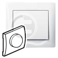 696806 DIY Galea Life Бел Светорегулятор нажимной 600Вт, л/н и г/л 230В
