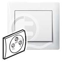 696808 DIY Galea Life Бел Розетка TV-FM-SAT 1,5 dB