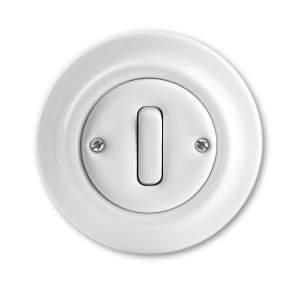 696845 DIY Galea Life Алюминий Выключатель кнопочный 1-клавишный, НО контакт