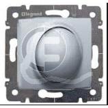 696846 DIY Galea Life Алюминий Светорегулятор нажимной 600Вт, л/н и г/л 230В