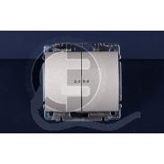 696863 DIY Galea Life Титан Выключатель 2-х клавишный с подсветкой