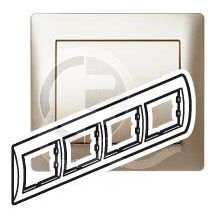 696874 DIY Galea Life Титан Рамка 4-я гориз