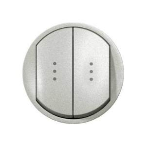 696950 DIY Celiane Титан Переключатель двухклавишный на два направления с подсветкой