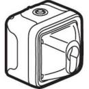 69757 Plexo Бел Выкл.с ключом