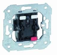 75102-39 75 Выключатель 1-клавишный с подсветкой красной 10АX250V