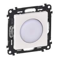 752069 Valena Life Белый Лампа аварийного освещения съемная (с лицевой панелью)
