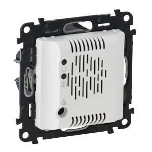 752136 Valena Life Белый Детектор газа (пропан,бутан) со звуковым сигналом (с лицевой панелью)