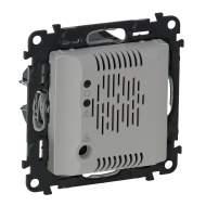 752336 Valena Life Алюминий Детектор газа (пропан,бутан) со звуковым сигналом (с лицевой панелью)