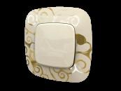 754353 Valena Allure Нарцисс золото Рамка 3-ая