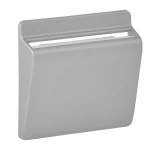 755162 Valena Life/Allure Алюминий Накладка выключателя карточного