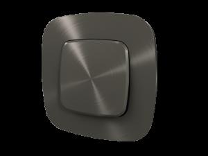 755513 Valena Allure Черная сталь Рамка 3-ая