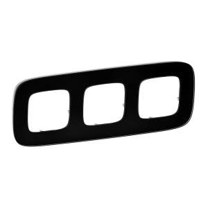 755533 Valena Allure Черное стекло Рамка 3-ая