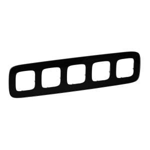 755535 Valena Allure Черное стекло Рамка 5-ая