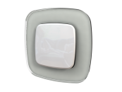 755545 Valena Allure Белое стекло Рамка 5-ая