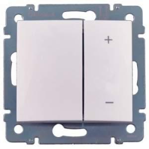 770074 Valena Бел Светорегулятор нажимной 40-600W для л/н и обмоточных т-ров