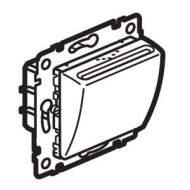 770235 Valena Алюминий Выключатель карточный с таймером на 30 секунд