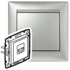 770285 Valena Алюминий Розетка HDMI