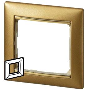 770301 Valena Матовое Золото Рамка 1-ая