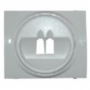 771000 Galea Life Бел Накладка аудиорозетки 1-ой