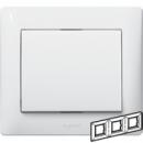 771003 Galea Life Белый Рамка 3-я, горизонтальная