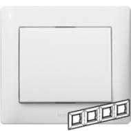 771004 Galea Life Белый Рамка 4-я, горизонтальная