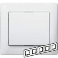 771005 Galea Life Белый Рамка 5-я, горизонтальная