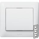 771007 Galea Life Белый Рамка 3-я, вертикальная