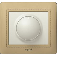 771169 Galea Life Титан Накладка Светорегулятора поворотного с подсветкой
