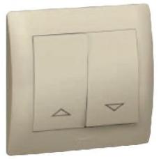 771214 Galea Life Темная Бронза Клавиша 2-я для жалюзийного выключателя