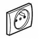 771228 Galea Life Темная Бронза Лицевая панель для роз.2К+З шт.фр.