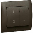 771286 Galea Life Темная Бронза Накладка светорегулятора нажимного (мех 775652, 775653)