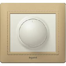 771359 Galea Life Алюминий Накладка светорегулятора поворотного, 1000Вт