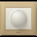 771368 Galea Life Алюминий Накладка светорегулятора поворотного 400/600Вт (мех.775654)