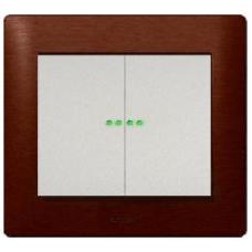 771579 Galea Life Жемчуг Клавиша 2-ая c точечной подсветкой