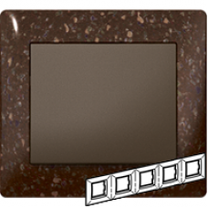 771705 Galea Life Шоколад/Corian Cocoa brown Рамка 5-я гориз