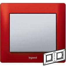 771902 Galea Life Красный Металл/Magic Red Рамка 2-я гориз