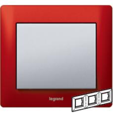771903 Galea Life Красный Металл/Magic Red Рамка 3-я гориз