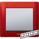 771904 Galea Life Красный Металл/Magic Red Рамка 4-я гориз
