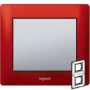 771906 Galea Life Красный Металл/Magic Red Рамка 2-я верт
