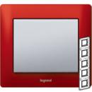 771909 Galea Life Красный Металл/Magic Red Рамка 5-я верт