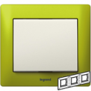 771923 Galea Life Зеленый Металл/Magic Green Рамка 3-я гориз