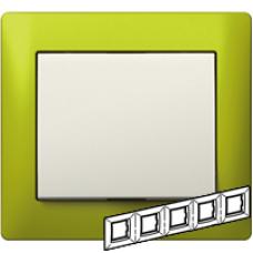 771925 Galea Life Зеленый Металл/Magic Green Рамка 5-я гориз
