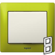 771926 Galea Life Зеленый Металл/Magic Green Рамка 2-я верт