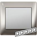 771935 Galea Life Хром/Chrome Рамка 5-я гориз