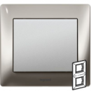 771936 Galea Life Хром/Chrome Рамка 2-я верт